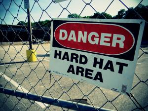 hard hat sign